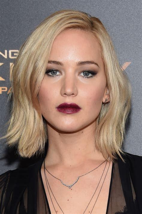 Jennifer Lawrence Short Wavy Cut   Short Hairstyles