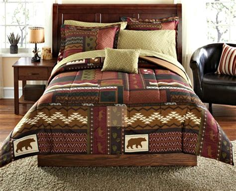 Cabin Bedding Sets by Total Fab Rustic Lodge Log Cabin Themed Bedding Sets