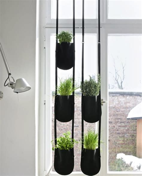 hanging window herb garden 1000 ideas about hanging flower pots on