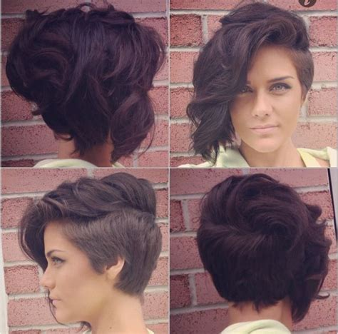 curly shaved side hair lady mohawk faux hawk shaved sides curly hair fancy