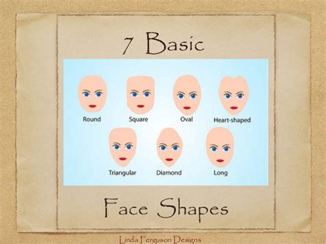 seven face shape exles hair styles that flatter your face shape