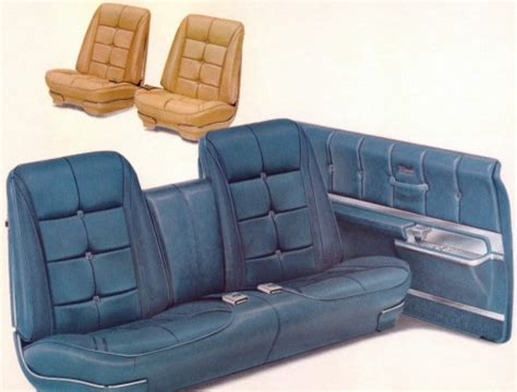bench bucket seats 1967 oldsmobile toronado interior trim