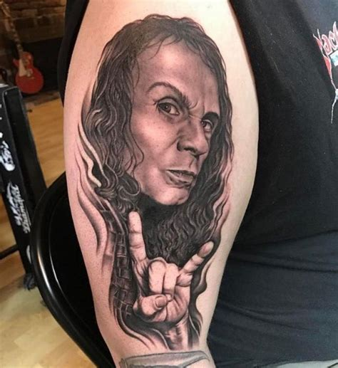 ronnie james dio tattoo ronnie dio tatuagens