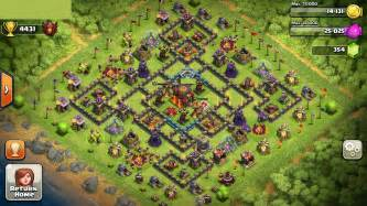 Coc th 10 base for pinterest