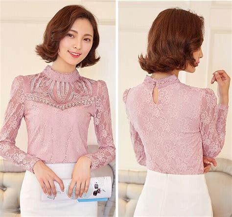 Korea Top Longsleeve Renda Blackk Wgset0161 242 best vintage dresses blouses etc images on