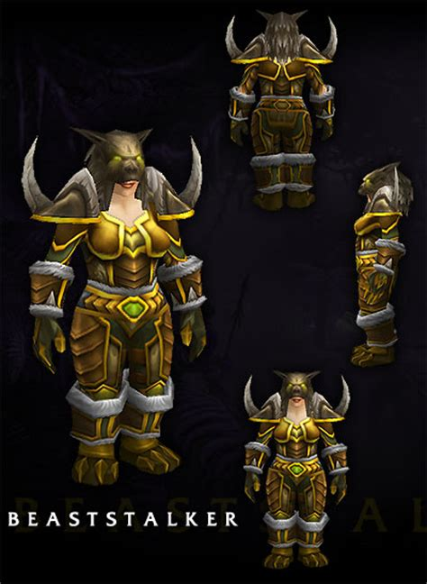 scrolls  lore image gallery renders armor setsdungeon  beaststalker female dwarven hunter