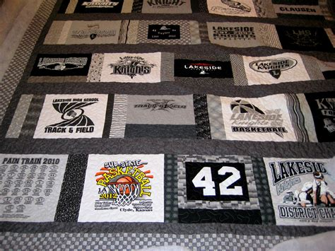 King Size T Shirt Quilt by King Size T Shirt Quilt Quilted By S Quilting Creations