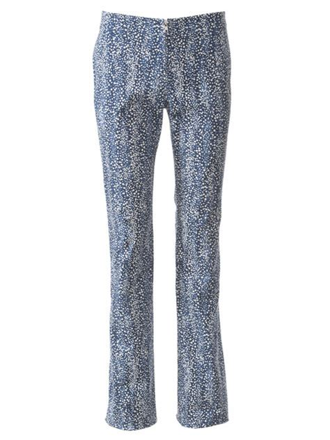 pattern for bootcut jeans twill bootcut pants 105 sewing patterns burdastyle com