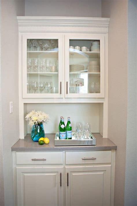 small butler pantry  add wine fridge pantry design