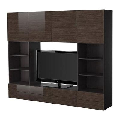 besta tv cabinet best 197 tv cabinet combination black brown bamboo pattern
