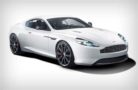 White Aston Martin Db9 by Aston Martin Db9 Carbon Black And White Editions