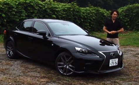 lexus is350 f sport new lexus is 350 f sport reviewed by gazoo tv autoevolution