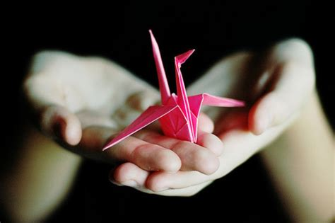 Peace Crane Origami - how to make an origami bird creativitism