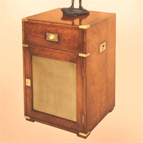 reh kennedy cabinet mini fridge compartment