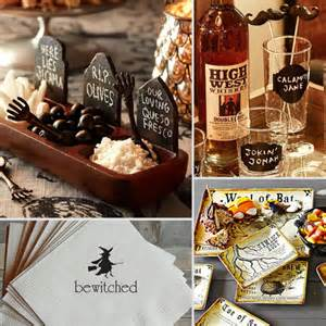halloween dinner party decor popsugar food