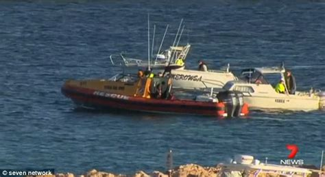 missing fishing boat western australia coral bay police divers recover human arm in search for