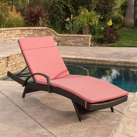outdoor patio lounge chairs contemporary outdoor brown wicker armed chaise lounge