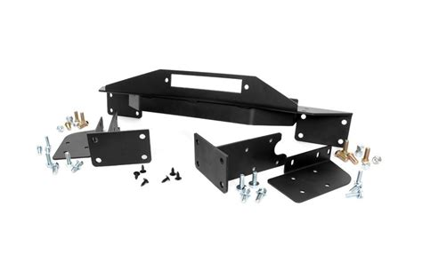 Jeep Yj Winch Plate Winch Mounting Plate For 93 98 Jeep Zj Grand