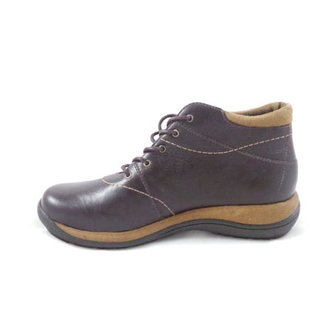romika milla 101 brown leather lace up casual ankle boot