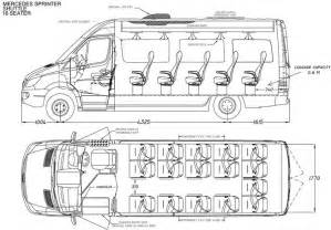 School Interior Dimensions by Mercedes Sprinter Dimensions Go Back Gt Gallery For