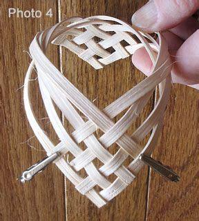 pattern for woven heart basket a woven heart pattern basket weaving and pattern