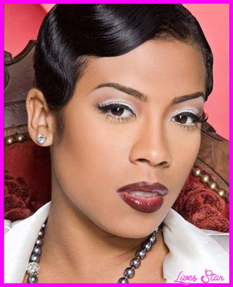 Kiesha Cole S Hort Fingerwave Curly Hairstyles On Pinterest | keyshia cole short hair cuts livesstar com