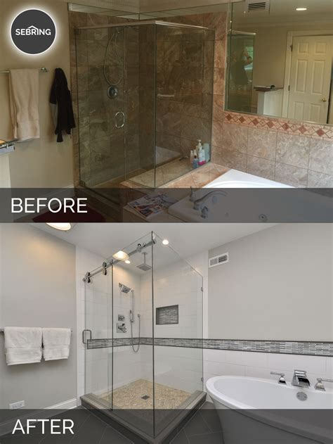bathroom before and after photos greg julie s master bathroom remodel before after