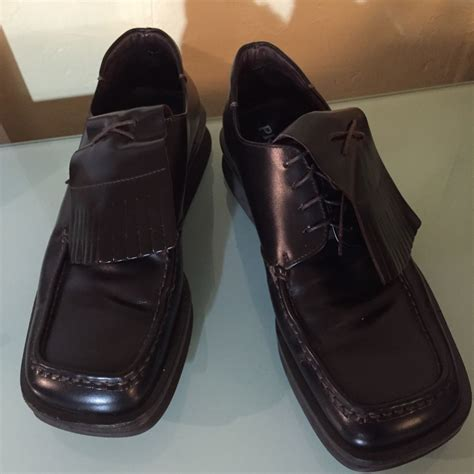 prada mens shoes 8 5 european size 39 ebay