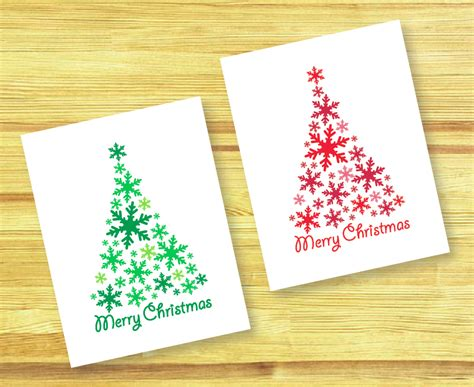 printable christmas cards diy la esp 225 tula roja diy christmas cards tarjetas de