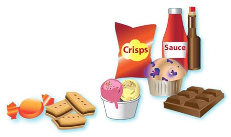 healthy fats and sugars foods and drinks high in salt and sugars