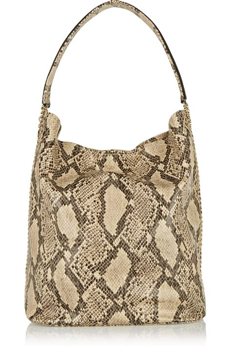 Furla Faux Snake Venere Bow Bag by Stella Mccartney Snakeeffect Faux Leather Shoulder Bag In