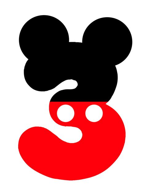 3style Mouse by Numero Mickey Disney Mickey Mouse