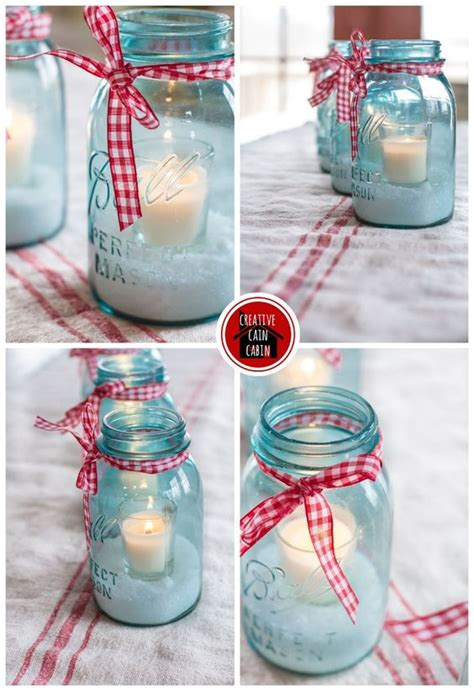 mason jar holiday centerpiece jars creative and masons