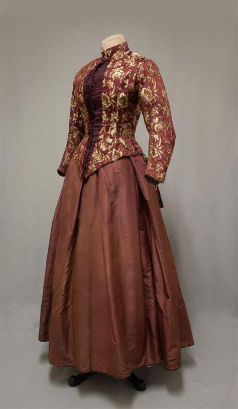 Brocade Dress Wd T1310 1 698 best s fashion 1880s 1890s images on dresses vintage gowns