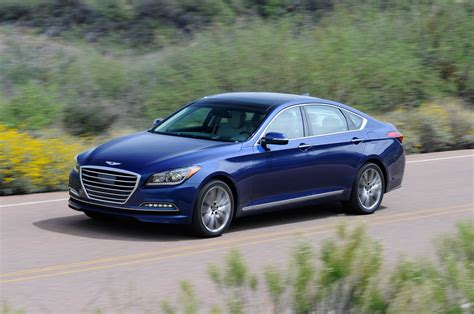 hyundai 2015 genesis review 2015 hyundai genesis review automobile magazine