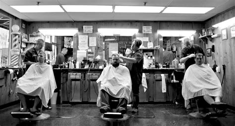 barber in milwaukee that will cut 1 year old walnut street barber shop a springfield stop for 73 years