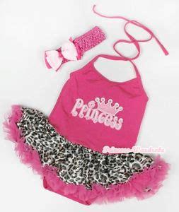Jumpsuit Baby Pink Leopard pink halterneck pink princess print jumpsuit leopard baby dress nb 2year ebay