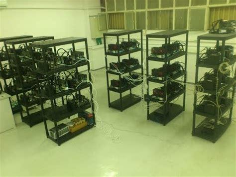bitcoin farming tutorial 50k and 50mhash worth of mining rigs diy mining farm