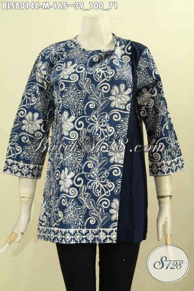 Baju Atasan Wanita 39 baju batik atasan wanita kerja busana batik halus