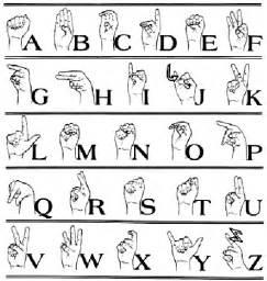 fischer american sign language alphabet