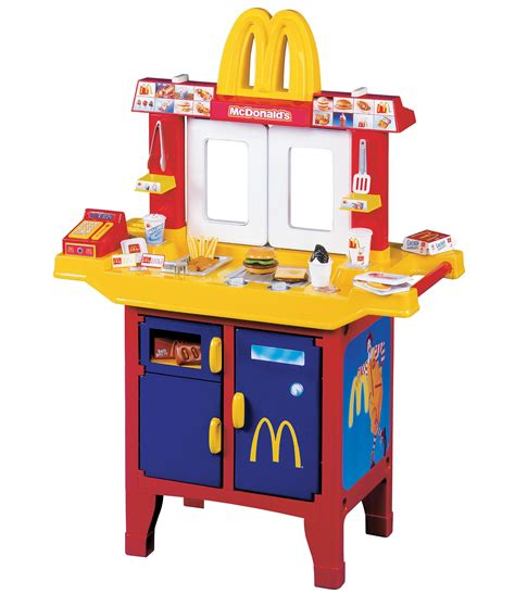 mc donalds drive in center kitchen with