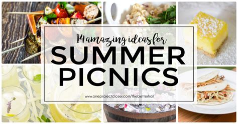 awesome picnic ideas food just in time for summer one project closer