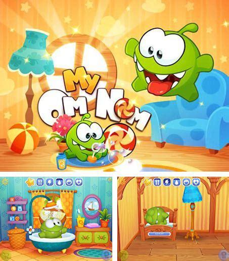 download game my om nom mod apk