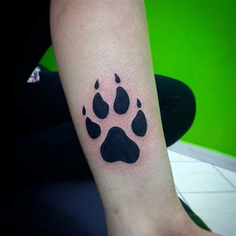 casual tattoo designs 15 coolest paw print designs