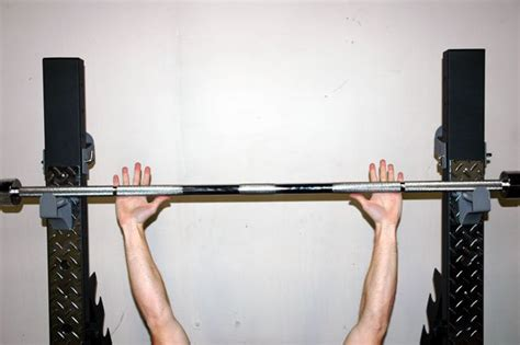 proper hand placement for bench press exercise of the week flat barbell bench press