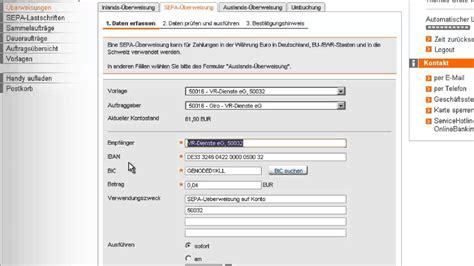 deutsche bank niederlande sepa 220 berweisung in der filiale banking
