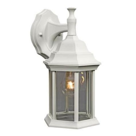 Outdoor Exterior Porch Wall Light Fixture L Lantern White Outdoor Light Fixtures