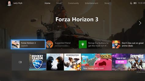 home design games for xbox a major new xbox one update overhauls the dashboard with