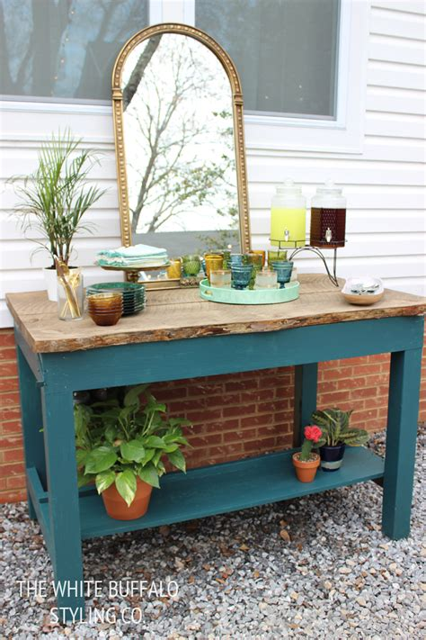 Patio Buffet by Our Patio Revealed Home Depot Style Challenge