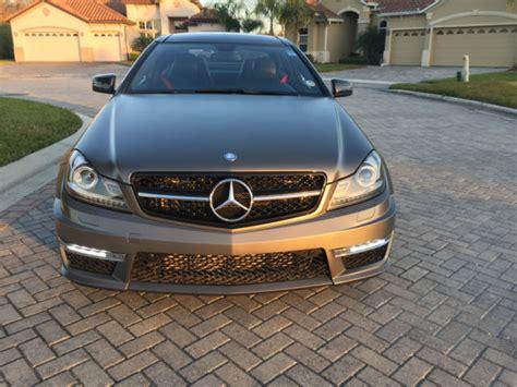 mercedes c250 2 door 2012 mercedes c250 coupe 2 door 1 8l c63 amg kit